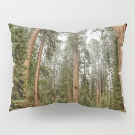 Sequoias in the Fog Pillow Sham