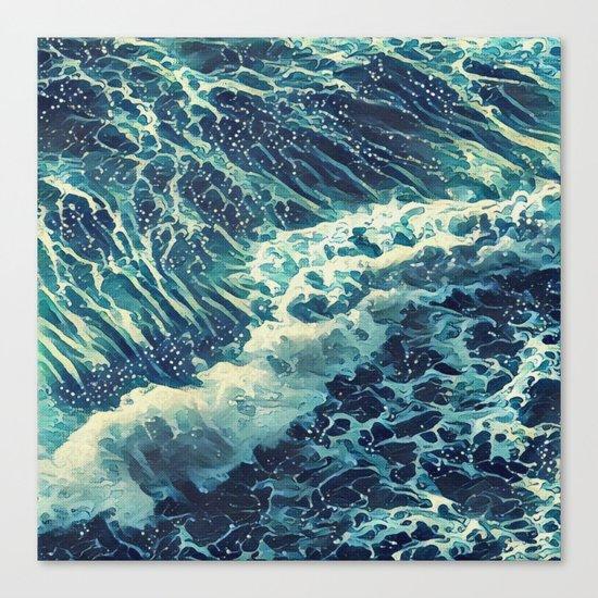 Every tide hath its ebb Canvas Print