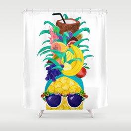 Chiquita Pineapple Shower Curtain