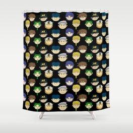Jojo Beans! Shower Curtain