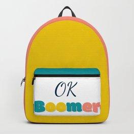Ok Boommer Backpack
