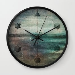 Platonic Solids Wall Clock