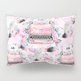 Typewriter #9 Pillow Sham