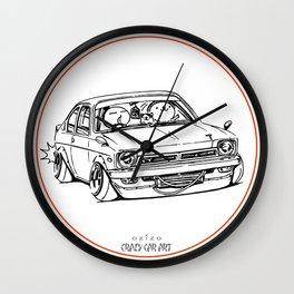 Crazy Car Art 0189 Wall Clock