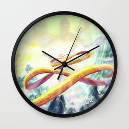 Journey's End Wall Clock