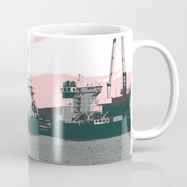 harbor rowing Coffee Mug