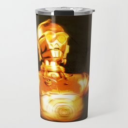 C3PO Pop Art Travel Mug