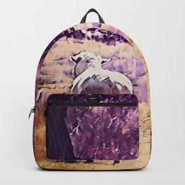 Lamb Frolic with Mama Ewe by CheyAnne Sexton Backpack