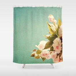 FlowerMent Shower Curtain
