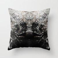 moth Throw Pillows featuring MOTH by ED design for fun