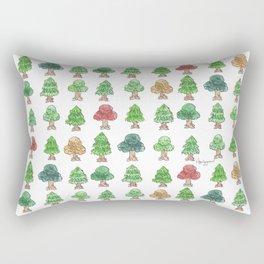 Little Trees Rectangular Pillow