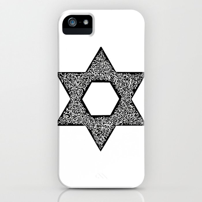 Star of David (Jewish star) iPhone Case