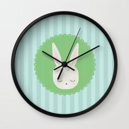 bunny Wall Clock