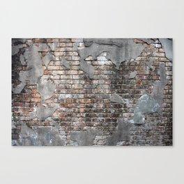 New Orleans Bricks Canvas Print