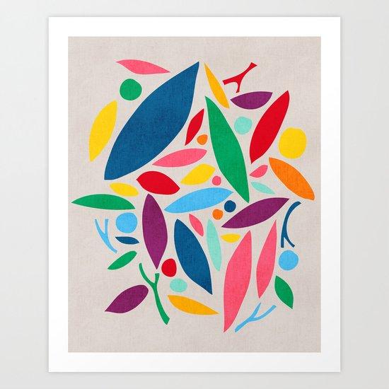 Found Objects Art Print