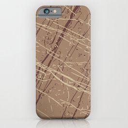 Macchiato, Sable & Marzipan iPhone Case