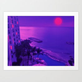 Its warmer with you Art Print