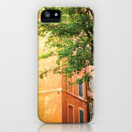 off the streets of Italy iPhone Case