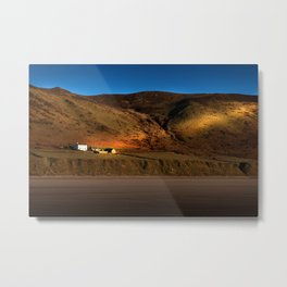 The Old Rectory at Rhossili Metal Print
