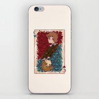 chihiro iPhone & iPod Skins featuring The Chihiro of Hearts by Dampho