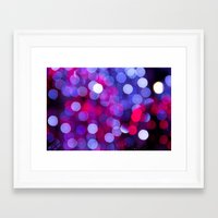 bokeh Framed Art Prints featuring Bokeh by Alyson Cornman Photography