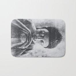 Buddha Grunge Bath Mat