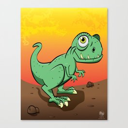 Baby T-Rex Canvas Print