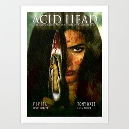 Acid Head: The Buzzard Nuts County Slaughter (2011)' - Movie Poster Art Print