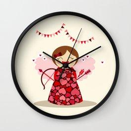 Petite Cupidon Wall Clock