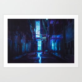 Midnight Meeting Art Print