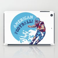 nfl iPad Cases featuring American Football by Studio|19