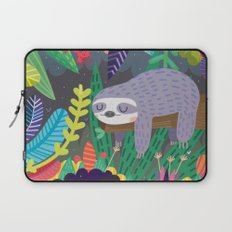 Sloth in nature Laptop Sleeve