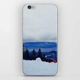 ski resort iPhone Skin