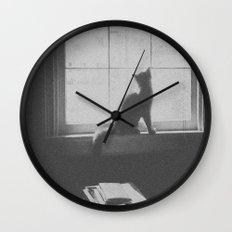 Watching the birds Wall Clock