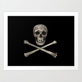 A Pirate's Bones Art Print