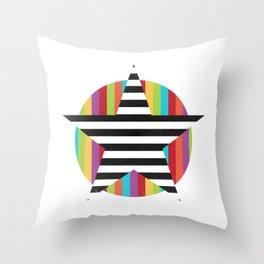 Star & Stripes Throw Pillow