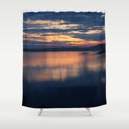 Campobello Island, Bay of Fundy Sunset Shower Curtain