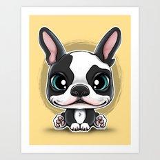 Cute Puppies series N.1 Art Print