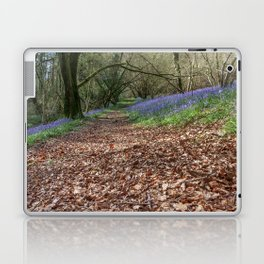 Bluebells and Beech Leaves Laptop & iPad Skin