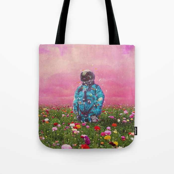The Flower Field Tote Bag