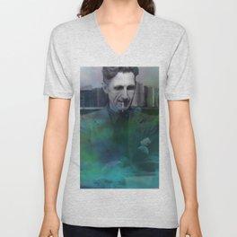 George Orwell Unisex V-Neck