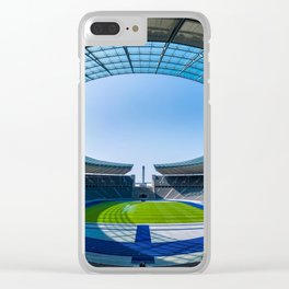 Olympiastadion Berlin Clear iPhone Case