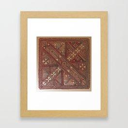 Trip to Morocco Framed Art Print