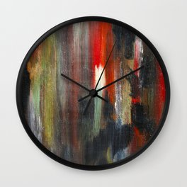 Crude Oil Chart  Wall Clock