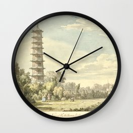 Pagoda at Kew Wall Clock