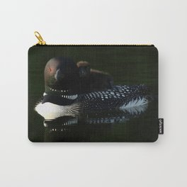 Mother and baby loon Carry-All Pouch