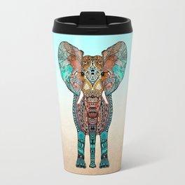 BOHO SUMMER ELEPHANT Travel Mug