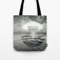 inception Tote Bags featuring Inception Landscape by monicamarcov