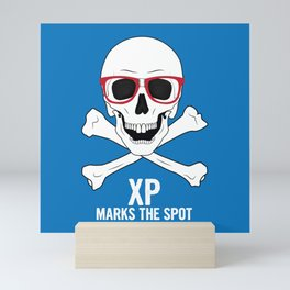 XP Marks the Spot Mini Art Print