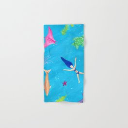 Ocean Relaxation in a Tropical Bliss Hand & Bath Towel